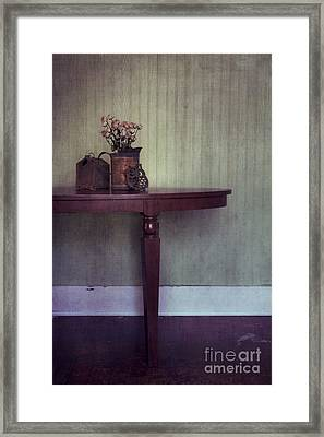 Old And Rusty Framed Print by Priska Wettstein