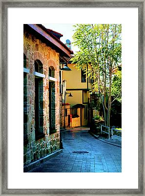 Old Antalya Framed Print by Inna Nedzelskaia
