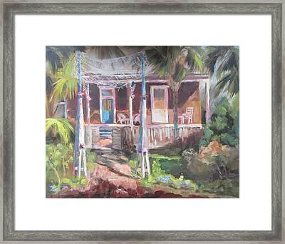 Old Apalach Framed Print by Susan Richardson