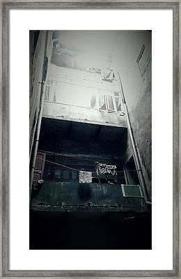 Old Apartment Framed Print by Tetyana Kokhanets