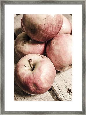 Old Apple Crate Framed Print by Jorgo Photography - Wall Art Gallery