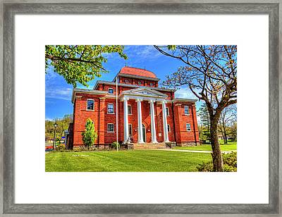 Old Ashe Courthouse Framed Print