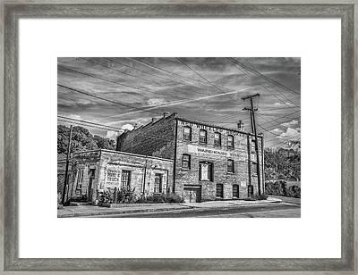 Old Asheville Building Framed Print