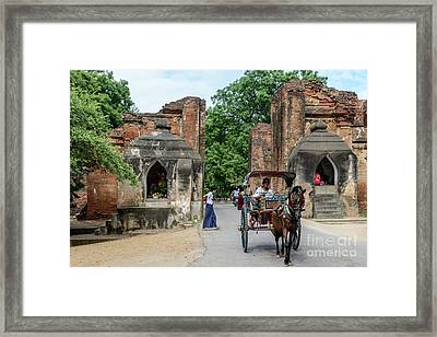 Old Bagan Framed Print