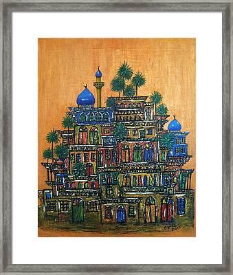 Old Baghdad Framed Print by Siran Ajil