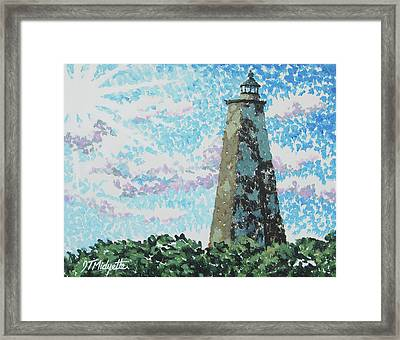 Old Baldy Lighthouse Framed Print