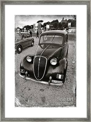 Old Balilla Carabinieri Framed Print