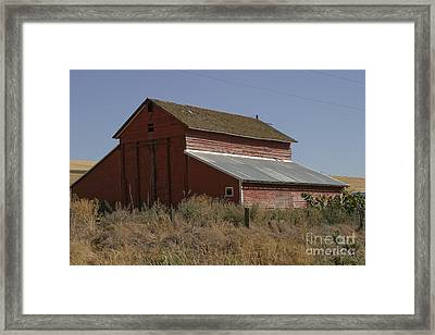 Old Barn Framed Print by Robert  Torkomian