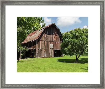 Old Barn Framed Print by William Morris