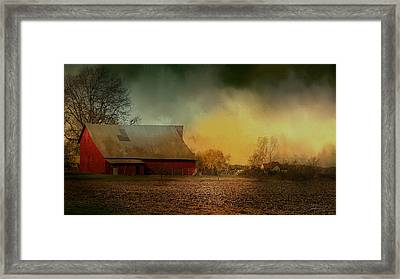 Old Barn With Charm Framed Print