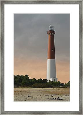 Old Barney Framed Print by Gordon Beck