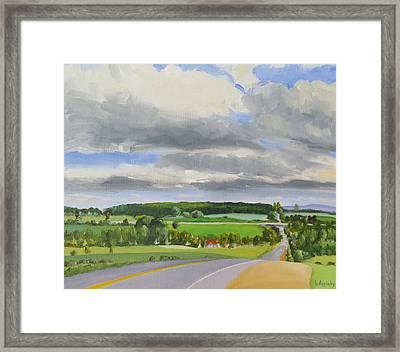 Old Barrie Road Framed Print