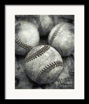 Baseball Season Framed Prints