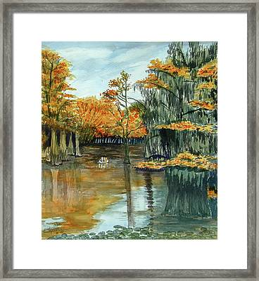 Old Bearded One Framed Print by Ron Stephens