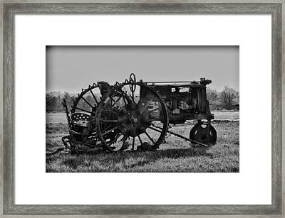 Old Betsy Framed Print by Bill Cannon