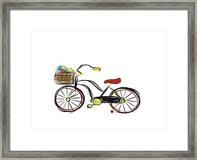 Old Bicycle Framed Print
