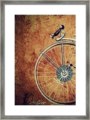 Old Bicycle-part One Framed Print