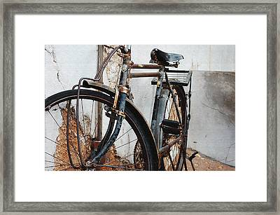 Old Bike II Framed Print