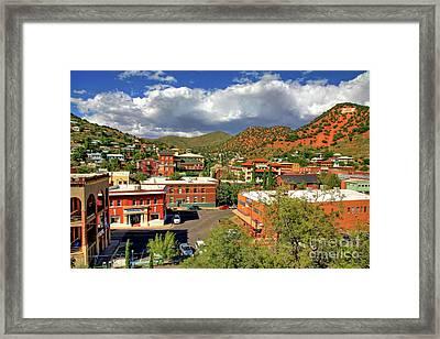 Old Bisbee Arizona Framed Print