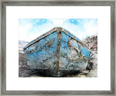 Old Blue # 2 Framed Print