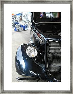 Old Blue Framed Print by Gary Baird