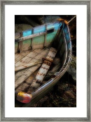 Old Boat 2 Stonington Maine Framed Print