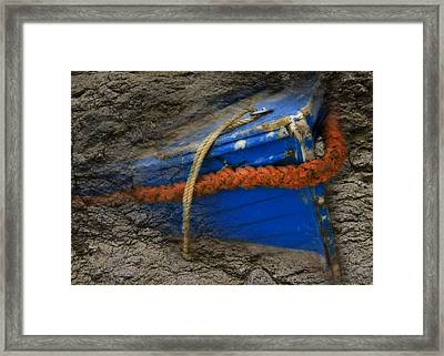 Old Boat Framed Print by Svetlana Sewell
