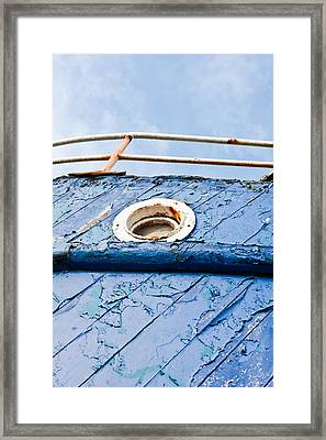 Old Boat Framed Print by Tom Gowanlock