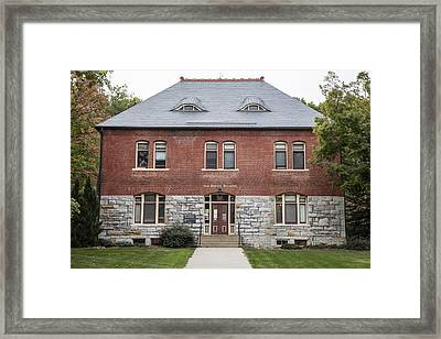Old Botany Building Penn State  Framed Print by John McGraw