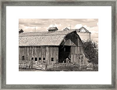 Old Boulder County Colorado Barn Framed Print by James BO  Insogna