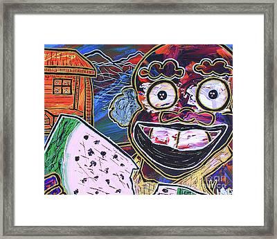 Old Boy Ben Framed Print