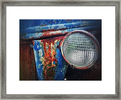 Framed Print featuring the photograph Old Boy by Olivier Calas