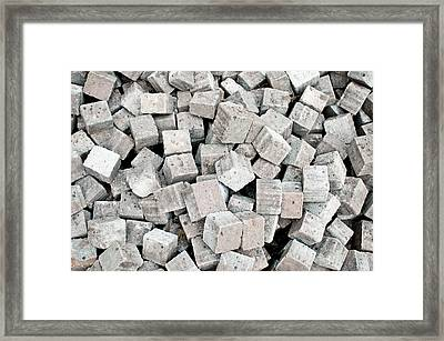 Old Bricks Framed Print