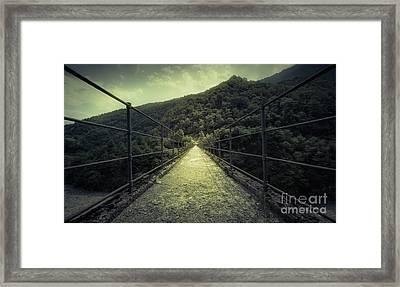 Old Bridge Framed Print by Svetlana Sewell