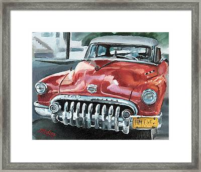 Old Buick Framed Print by Antonio Molina