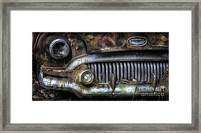 Old Buick Front End Framed Print by Walt Foegelle