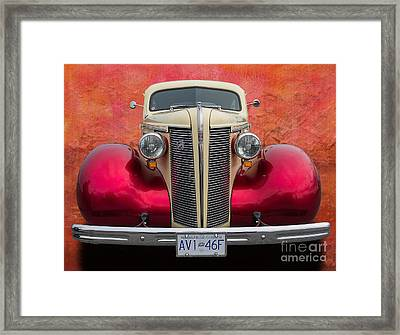 Old Buick Framed Print by Jim  Hatch