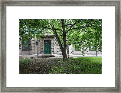 Old Building Exterior Framed Print by Teemu Tretjakov