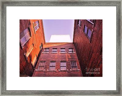 Old Building In The Pointe Framed Print by Reb Frost