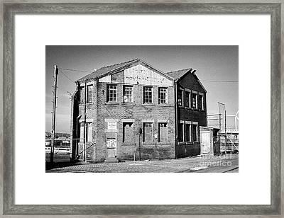Old Building South Collingwood Dock Liverpool Docks Dockland Uk Framed Print