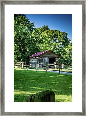Old Building - The Hermitage Framed Print