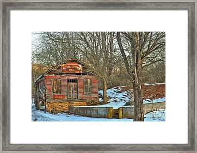 Old Building Framed Print