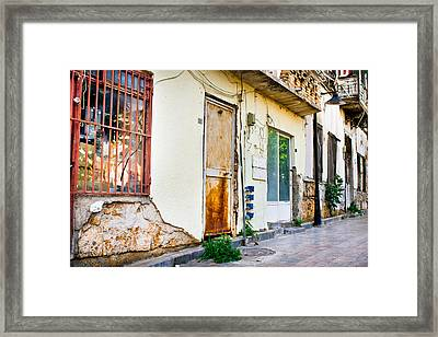 Old Buildings Framed Print