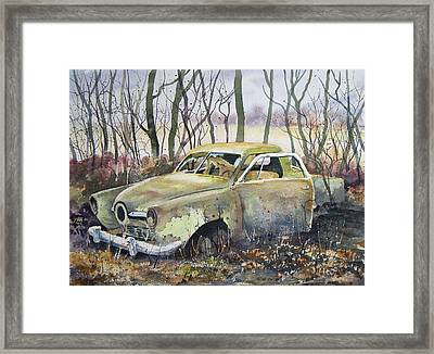 Old Bullet Nose Framed Print by Sam Sidders
