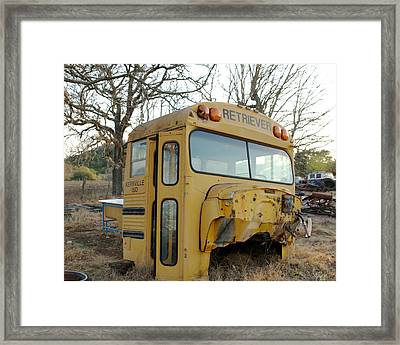 Old Bus Framed Print