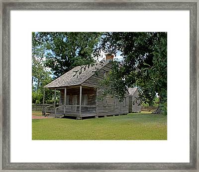 Old Cajun Home Framed Print