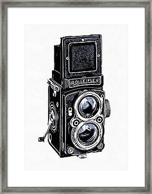 Old Camera II Framed Print