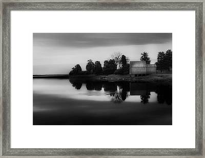 Framed Print featuring the photograph Old Cape Cod by Bill Wakeley