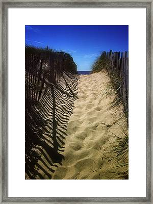 Old Cape Cod Framed Print