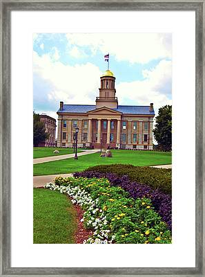 Old Capitol Framed Print by Jame Hayes